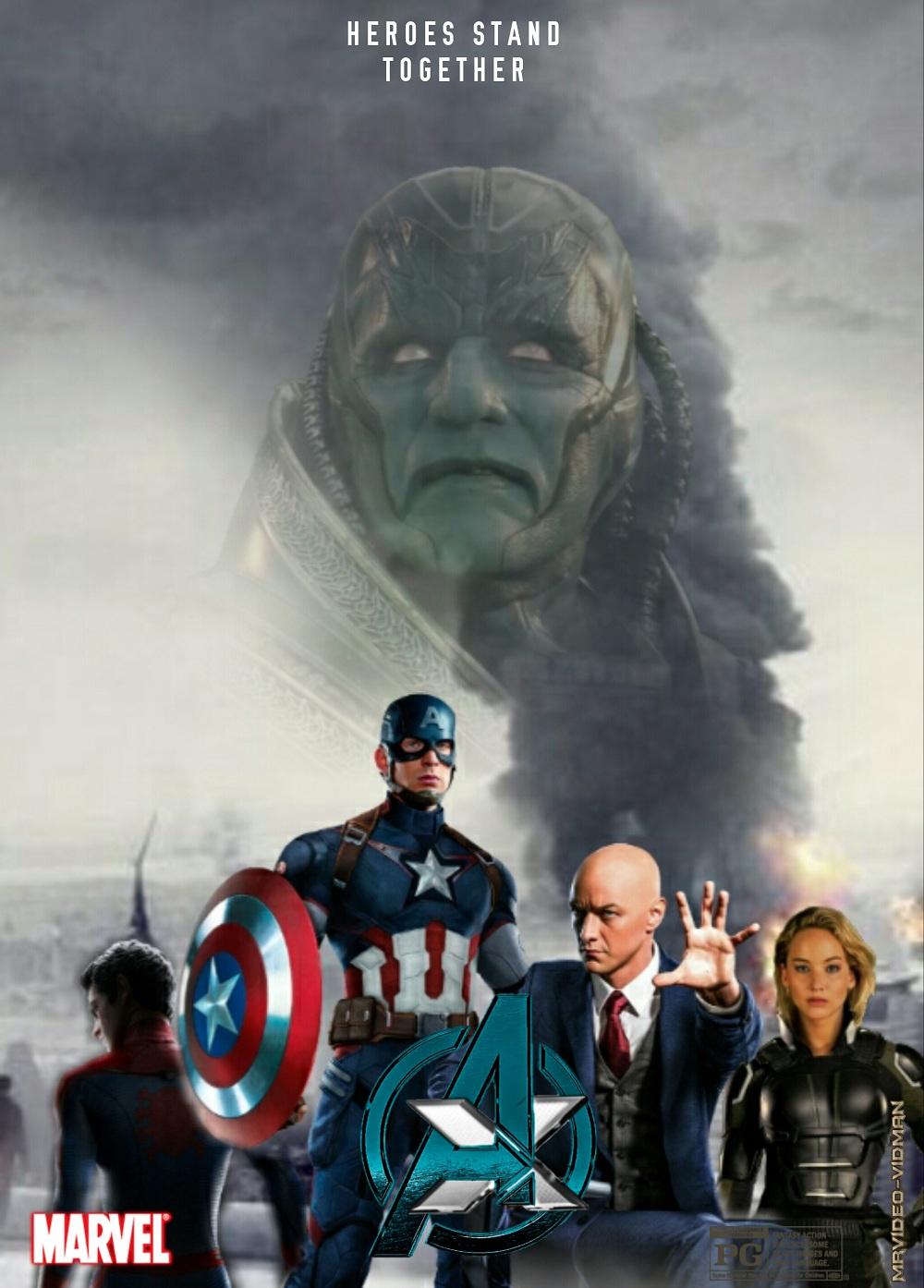 Сенсація: Месники та Люди Ікс в одному фільмі?