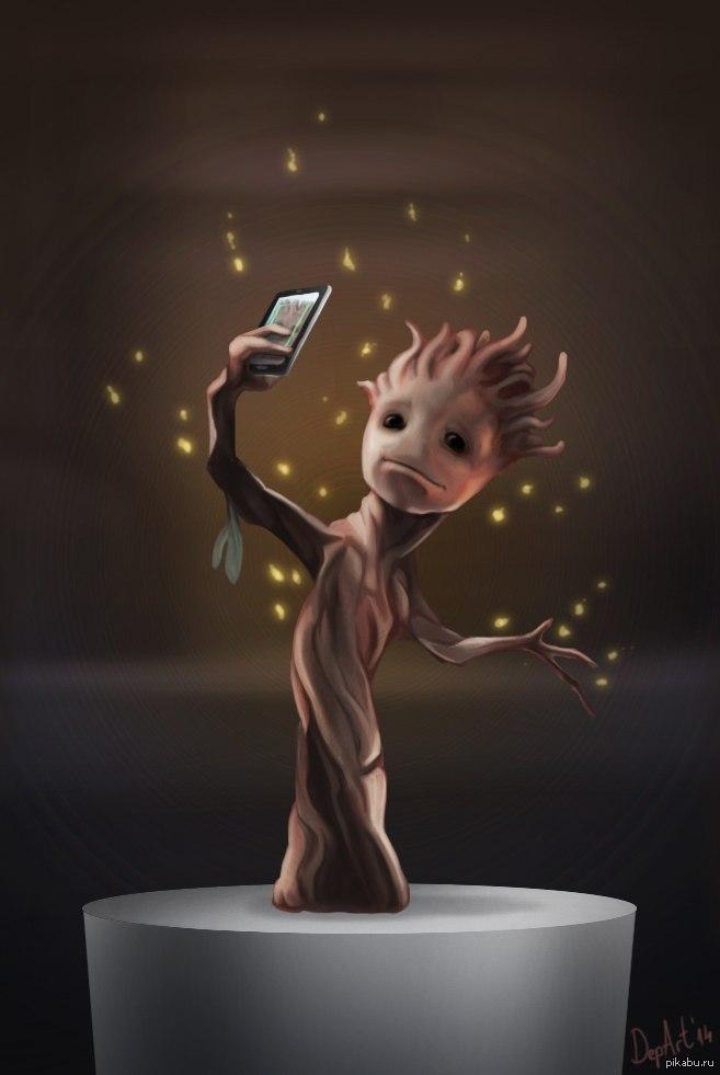 Як знімали Малюка Грута у фільмі Вартові Галактики: Частина 2