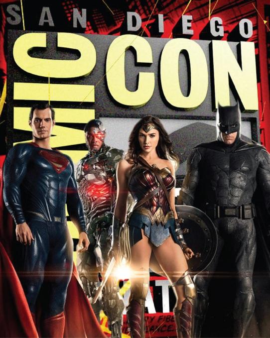 Всі новини DC із Комік-кон 2017