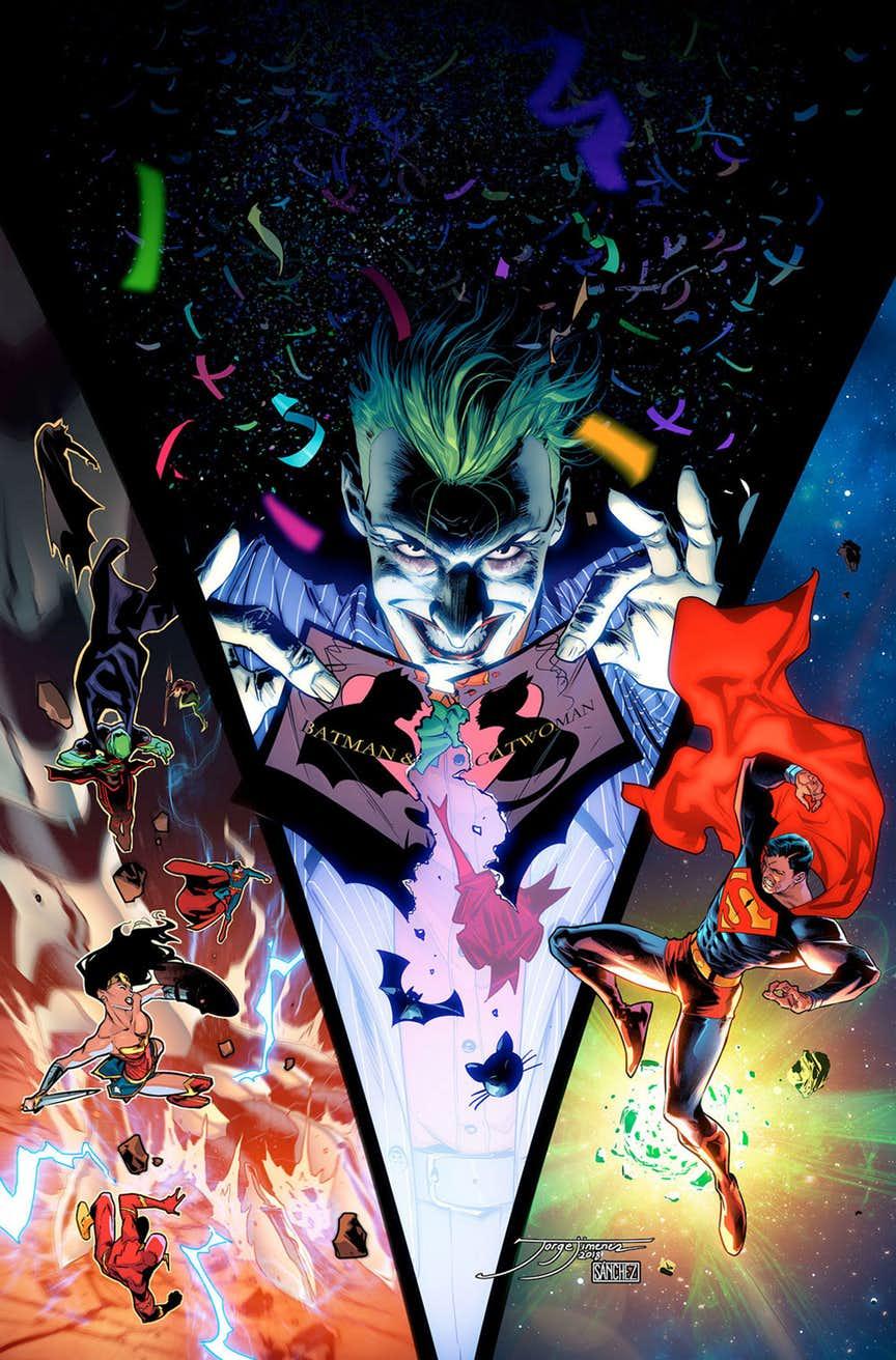 Чи зірве Джокер весілля Бетмена і Жінки-Кішки в коміксах?