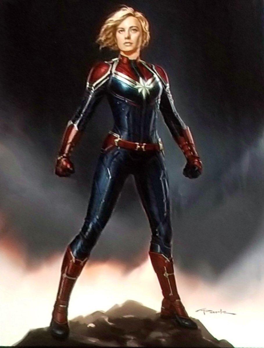 Капітан Марвел: Перший Трейлер