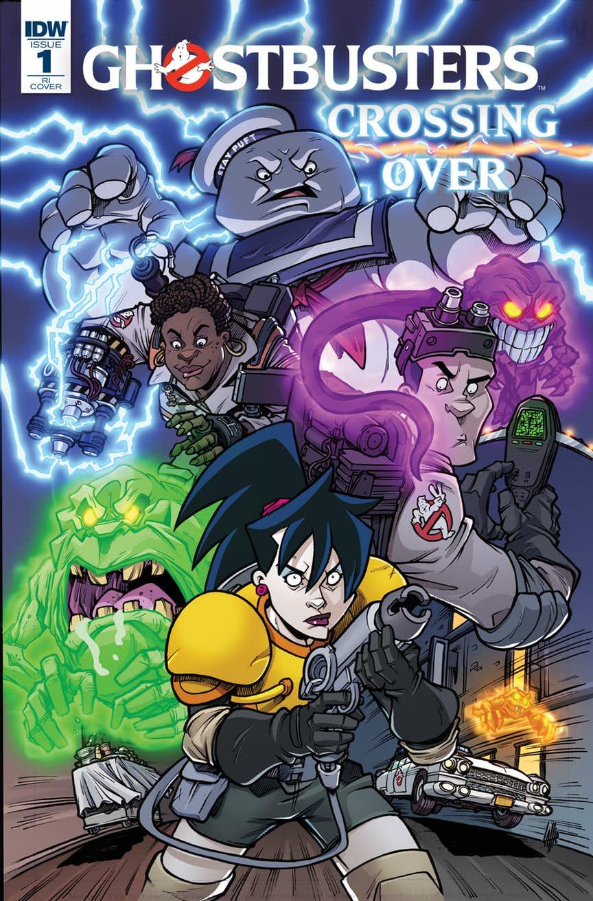 Всі Мисливці на Привидів з'являться в комікс-кросовері