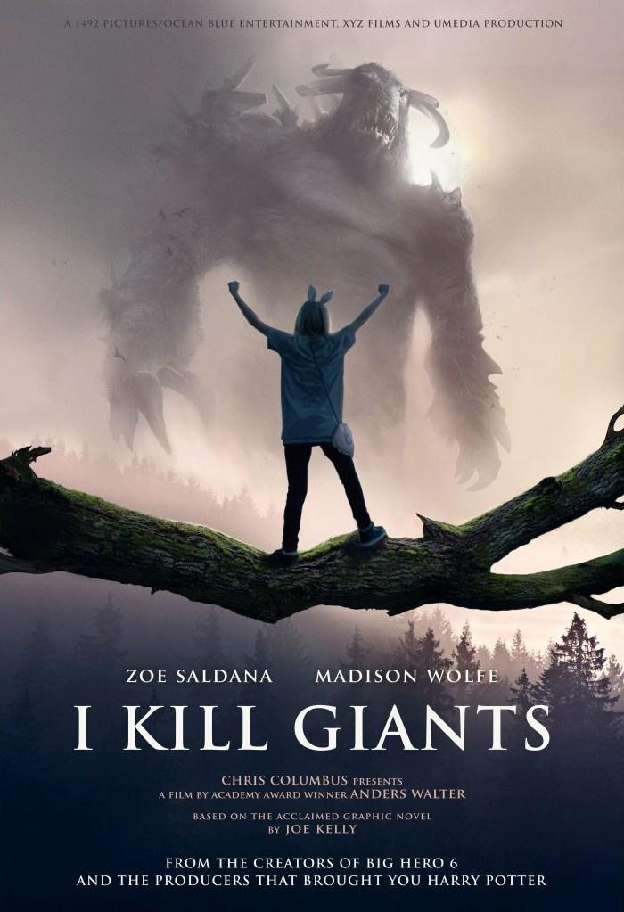 Трейлер фільму «Я вбиваю Велетнів»