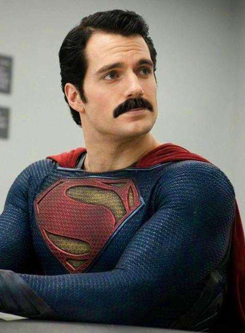 Вуса Супермена на мільйон доларів