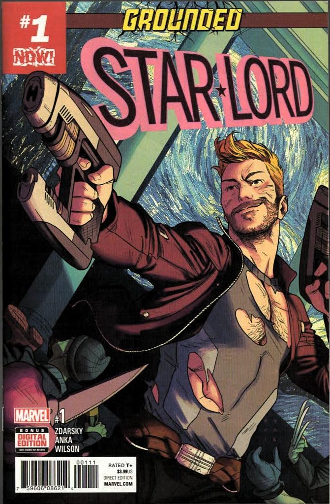 Marvel анонсували комікс про старого Стар Лорда