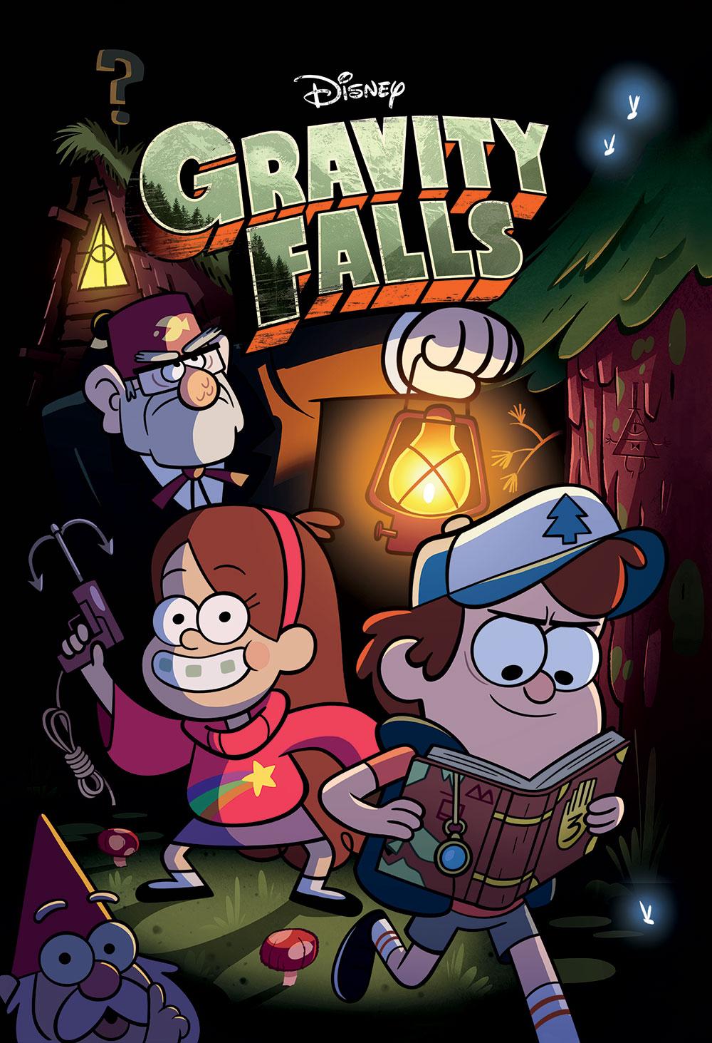 Анонсовано комікс «Gravity Falls»