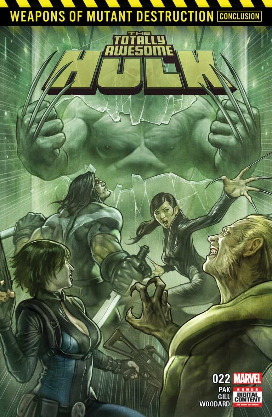 Marvel показали гібрид Росомахи і Халка