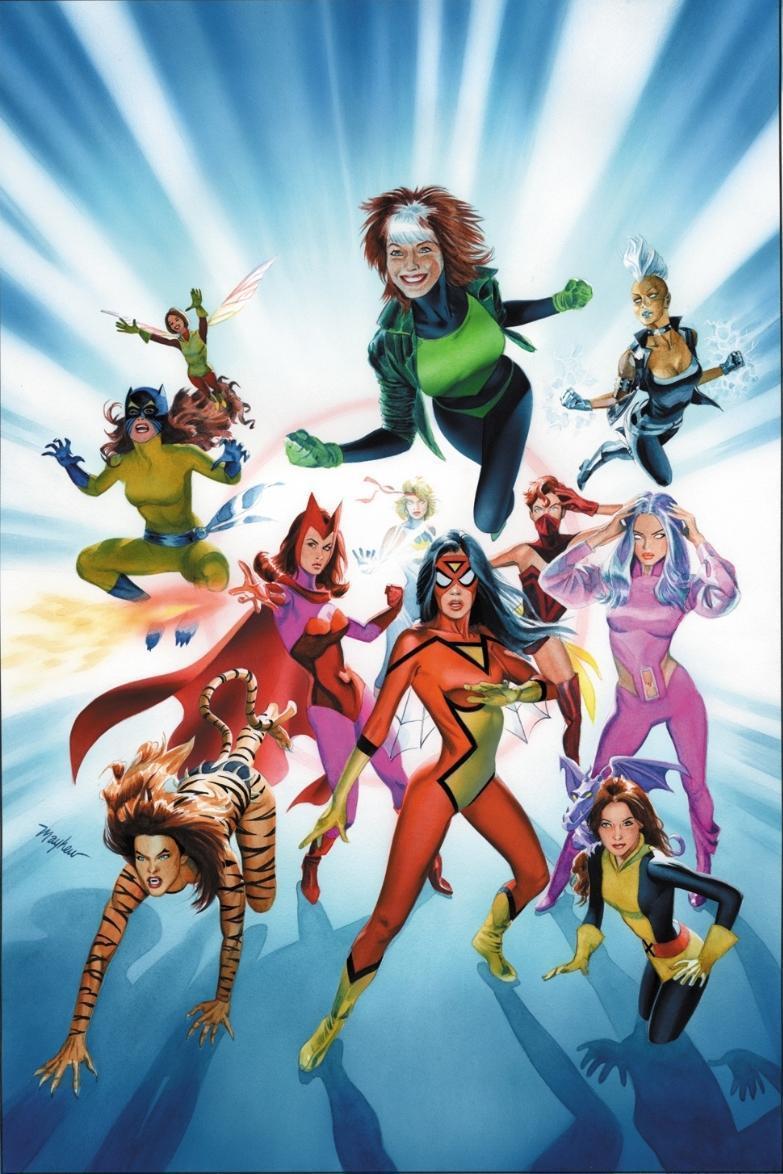 MARVEL готує серіал про команду супергероїнь