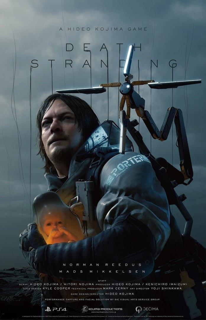 Величезний трейлер гри «Death Stranding»